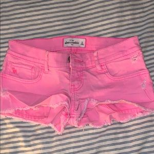 Size 14 Abercrombie Jean shorts